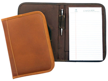 leather junior pad folders