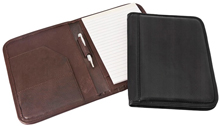 small cowhide leather padfolios